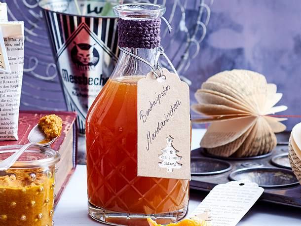 Beschwipstes Mandarinchen  Rezept