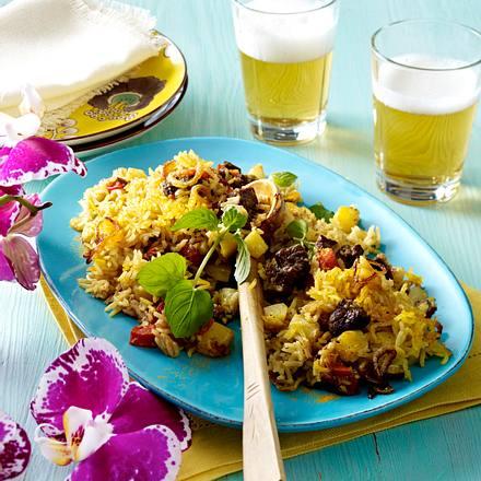 Biriyani mit Rindfleisch Rezept