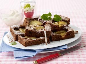 Birne Helene-Kuchen Rezept
