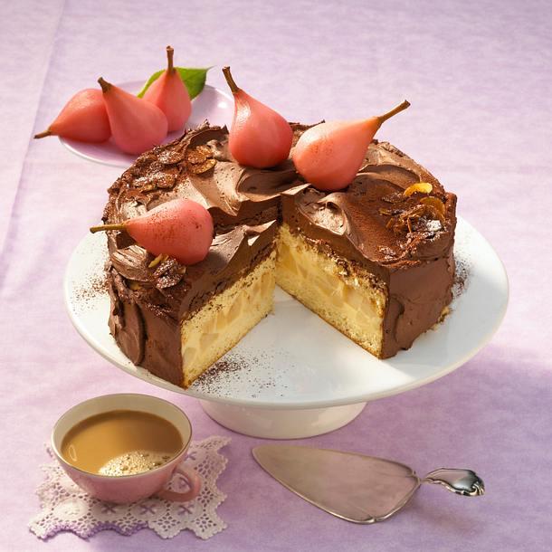 Birne-Helene-Torte Rezept