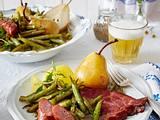 Birnen, Bohnen und Kasseler Rezept