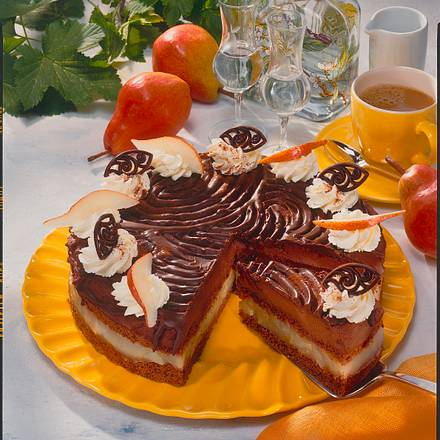 Birnen-Herren-Torte Rezept