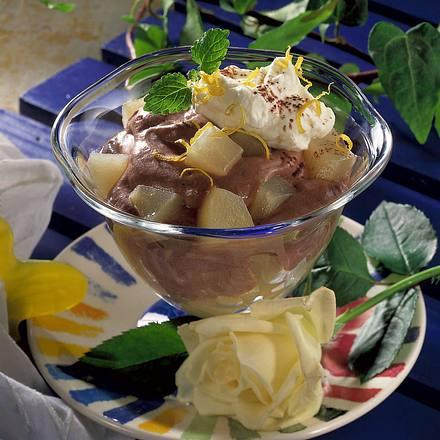 Birnen in Schokocreme Rezept
