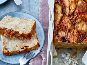 Birnen-Kastenkuchen Rezept