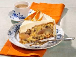 Birnen-Malaga-Kuchen Rezept