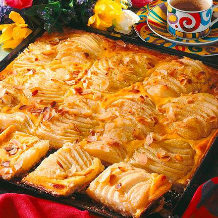 Birnen-Mandel-Kuchen Rezept