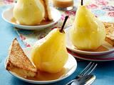 Birnen mit Karamellsoße Rezept