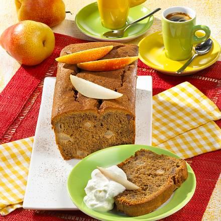 Birnen-Mokka-Kuchen (Diabetiker) Rezept