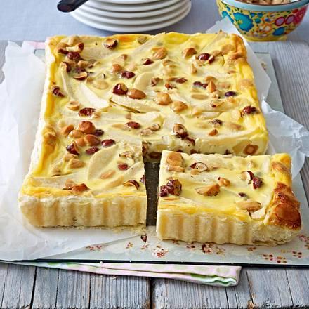 Birnen-Nuss-Pie Rezept