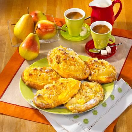 Birnen-Pudding-Küchlein Rezept