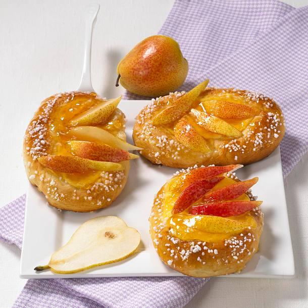 Birnen-Pudding-Taler Rezept