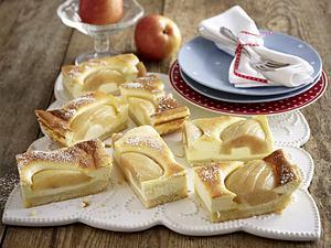 Birnen-Quark-Kuchen vom Blech Rezept