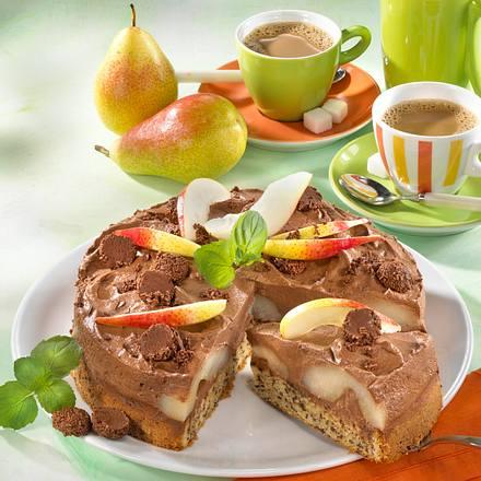 Birnen-Rumkugel-Torte Rezept