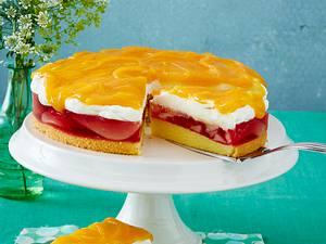 Birnen-Sahne-Torte Rezept