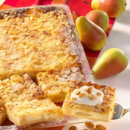 Birnen-Schmand-Kuchen Rezept