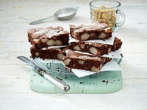 Birnen-Walnuss-Brownies Rezept