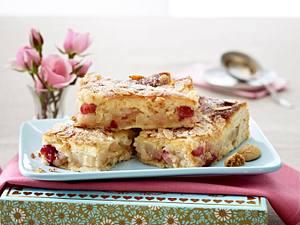 Birnenkuchen mit Amarettini Rezept