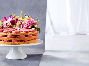 Biskuit-Torte (Naked Cake) Rezept