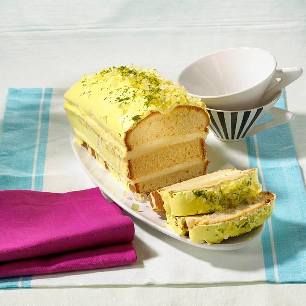 Bitter-Lemon-Kuchen Rezept