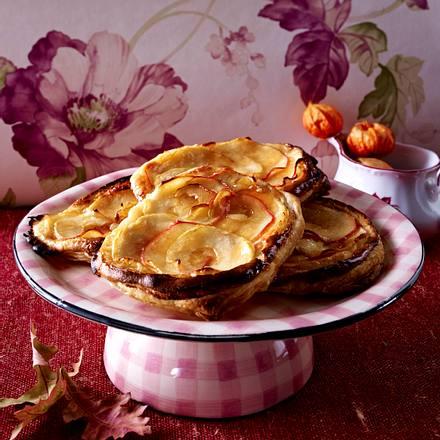 Blätterteig-Apfel-Fladen Rezept
