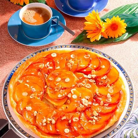 Blätterteig Apfelkuchen Rezept