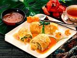 Blätterteig-Gemüserollen mit asiatischer Soße Rezept