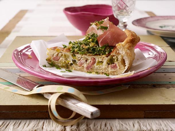 Blätterteig-Käse-Quiche (Schweizer Käsewähe) Rezept