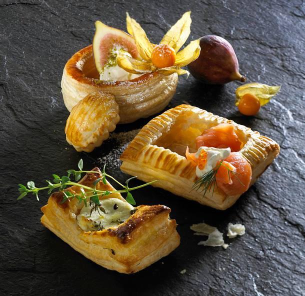 Blätterteig-Pasteten Rezept