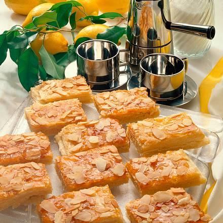 Blätterteig-Zitronen-Schnitten Rezept