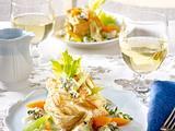 Blätterteigpasteten mit Gorgonzola-Soße Rezept