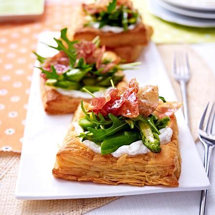 Blätterteigtörtchen mit Frischkäse Rezept