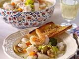 Blanquette de la mer (Französisches Fischragout) Rezept
