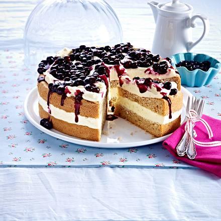 Blaubeer-Buchweizen-Torte Rezept
