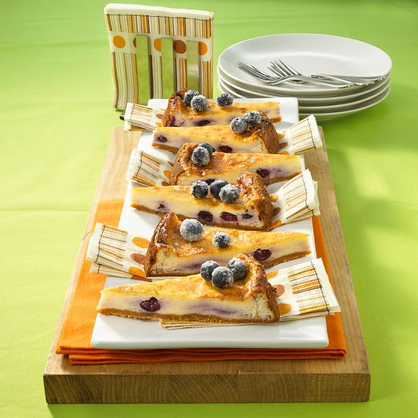 Blaubeer-Cheesecake Rezept