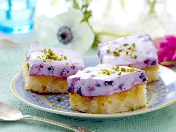 Blaubeer-Joghurt-Würfel Rezept