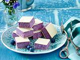 Blaubeer-Käsewürfel Rezept