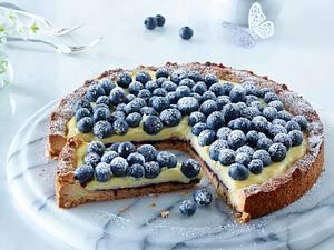 Blaubeer-Puddingkuchen Rezept