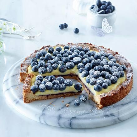 Blaubeer Puddingkuchen Rezept Lecker