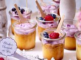 Blaubeer-Cheesecake im Glas Rezept