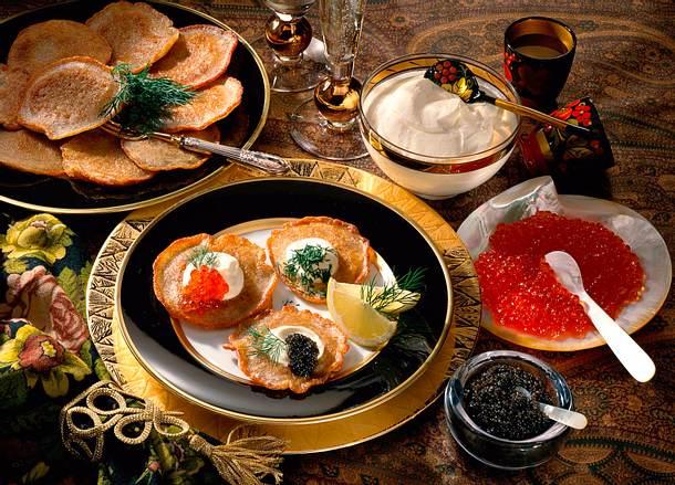 Blinis mit Kaviar Rezept