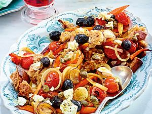 Blitz-Brotsalat Greek Style Rezept-F6172204