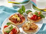 Blitzschnelle Mini-Pizzas Rezept