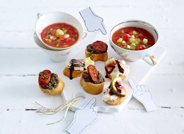 Bloody-Mary-Gazpacho Rezept