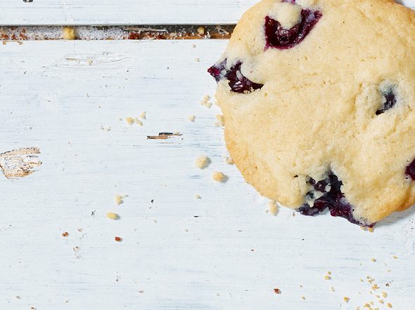 Blueberry Cookies Rezept