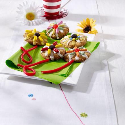 Blumen-Cookies für Mutti Rezept