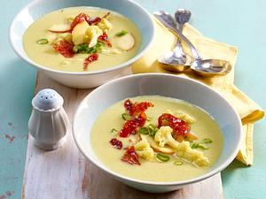Blumenkohl-Apfel-Currysuppe Rezept