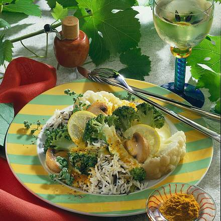 Blumenkohl-Broccoli-Curry (Diabetiker) Rezept