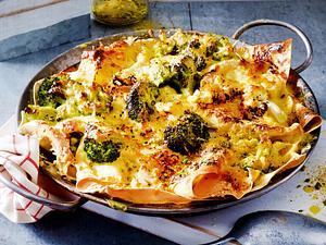 Blumenkohl-Brokkoli-Lasagne Rezept F7567402