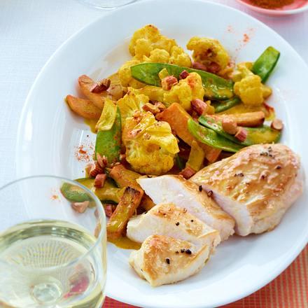 blumenkohl curry mit h hnchenbrust di t rezept chefkoch rezepte auf kochen. Black Bedroom Furniture Sets. Home Design Ideas