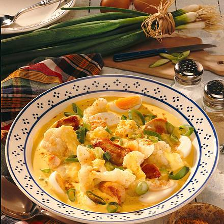 Blumenkohl-Hähnchen-Curry Rezept